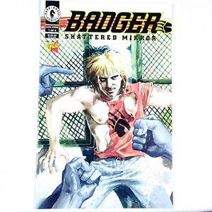 Comic Book - Badger Shattered Mirror 1 of 4 - 1994 - Dark Horse Comics