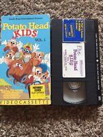 Potato Head Kids Vol. 1 VHS video 1986 Hasbro, Inc.