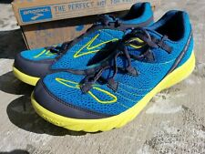 MENS BROOKS ECO GREEN SILENCE RUNNING SHOES 8.5 M $100 MSRP