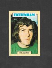 A&BC Gum Football Blue back 1973  # 19 Pat Jennings Tottenham Hotspurs