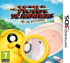 3DS Hora De Aventuras: Finn Y Jake Investigadores Nuevo Precintado Pal España