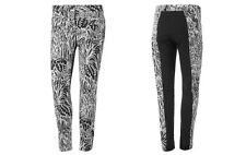 new ADIDAS women's GRAPHIC PANTS sz S skinny 7/8 track leggings