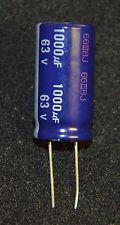 2  X 1000 uF 63V Elect CAP Radial 85 deg (L2062)