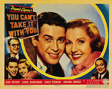 You Can't Take It With You 11 X 14  Lobby Card LC James Stewart Jean Arthur