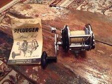 Vintage Pflueger Bond Reel With Owners Manual