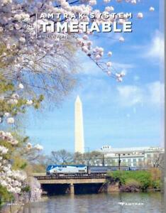 2013 Amtrak system railroad passenger train timetables (Summer-Fall)