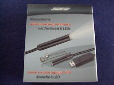 Wasserdichte USB-Endoskop-Kamera Somikon UEC-3070.HD,starkes flexibles 7m-Kabel