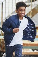 BNWT NEXT Boys Navy Blue Padded Coat Jacket 8-9 10-11 Years RRP £30 / £32
