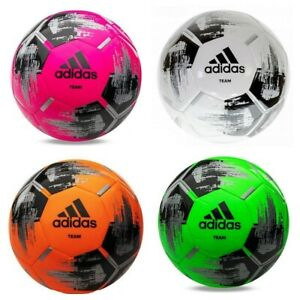 Adidas Team Glider Football Training Soccer Ball Size 3 4 5