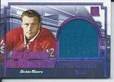 2017 Leaf ITG In The Game Used Seat Le Forum Montreal DICKIE MOORE Purple 2/12