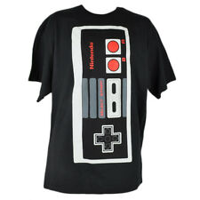 Nintendo Controller Video Game Gaming System Black 2XLarge Tshirt Tee XXL Retro