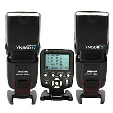 2 * Yongnuo YN-560 IV Wrieless Speedlite Flash + YN560-TX Trigger for Nikon