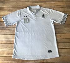 Nike France EURO 2012 Soccer Training Jersey Brand New Blue//Obsidian//White