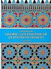 Arabic Geometrical Pattern and Design by J. Bourgoin (Paperback, 1973)