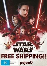 Star Wars The Last Jedi DVD Reg 4 FREE POST! (2017) New!