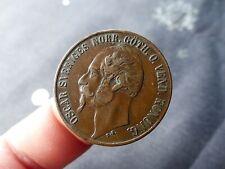 SUÈDE - 5 Öre Oscar Ier 1858; Bronze; TTB; A VOIR...