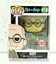 Funko POP Rick and Morty. ROY 418 Special Edition VERY COLLECTABLE