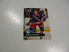 James Patrick 1991 NHL Pro Set (French) card #164