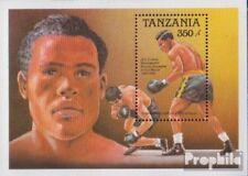 tanzanie Bloc 90 (complète edition) neuf avec gomme originale 1989 sportifs