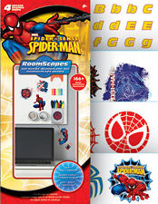SPIDERMAN wall stickers over 170 decals roomscapes room decor letters superhero