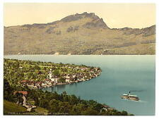 Beckenreid Lake Lucerne A4 Photo Print