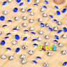 1000 Blue&Silver Diamond Confetti Wedding Table Scatter Crystals Decorations