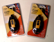 2 x AIRMAN ACCURATE DIGITAL TYRE PRESSURE GAUGE PSI BAR KPA