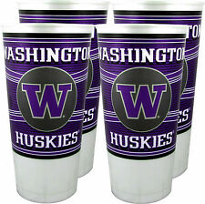 Washington Huskies 24 oz. Souvenir Cups (4 per set)