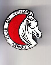 RARE PINS PIN'S .. SPORT CHEVAL HORSE HIPPISME PONEY CLUB VOULGIS OUZOUER 77 ~BU