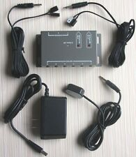IR Repeater infrared control compact Kit 1 Receiver 4 Emitter Hidden Remote