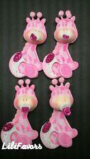 10 Baby Shower Pink Giraffes Decoration Foam Party Supplies Girls Favors