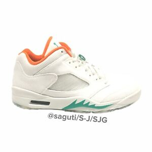 Nike Air Jordan 5 Low Retro NRG Lucky And Good Golf Shoes Size 11 / CW4204-100