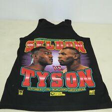 ORIGINAL SELDON VS TYSON SEPT 7 1996 MGM GRAND LIBERATION CHAMPION TANK TOP MED