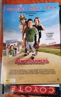 THE BENCHWARMERS ORIGINAL  1 SHEET  MOVIE  POSTER  DVD edition