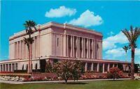 Mesa Arizona~Church of Jesus Christ of Latter Day Saints~1950s Postcard