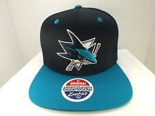 San Jose Sharks Hockey Retro Vintage  Snapback Hat Cap NEW By Zephyr