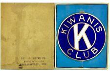 Original Vintage Kiwanis Club PORCELAIN Car Horn Attachment SEE PICS.