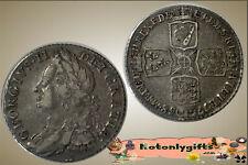 GB. - George II Shilling 1758  ....  VF