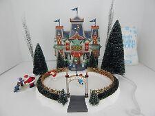 Dept 56 North Pole Series Glacier Park Pavilion #56745 Never Displayed