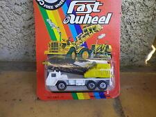YATMING Fast wheel vintage camion grue échelle 1/100 état Neuf blister scellé