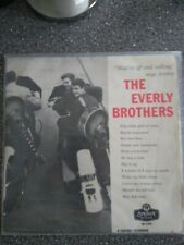 The Everly Brothers LP London HA-A2081 1958 American Series