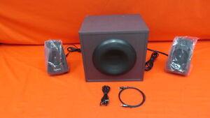Logitech Z625 Powerful THX Sound 2.1 Speaker System 6177