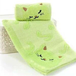 Cartoon Soft Cotton Bath Towel Baby Infant Newborn Washcloth Feeding Wipe Cloth