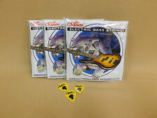 Alice A606-l Professional Electric Bass Guitar Strings Light (40 95) 3 Picks