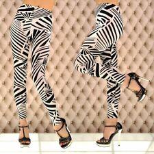 SeXy Hot Leggings Stripes Streifen Legins Legings Hose Netz Gogo Röhre #4834 907