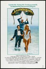 SUNBURN -1979- Original 27x41 movie poster - sexy FARRAH FAWCETT in bathing suit