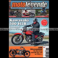 MOTO LEGENDE N°245 KAWASAKI 500 H1 B TRIUMPH TROPHY WILLIAMSON KENT ANDERSSON