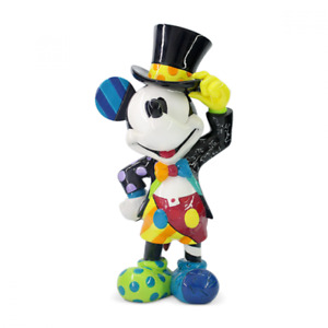 Disney By Britto Large Figurine Mickey Mouse Top Hat ERB6006083