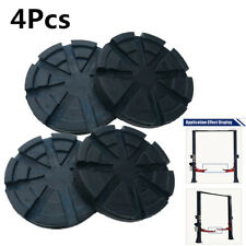 4x Universal Heavy Duty Rubber Arm Pads for Truck Hoist Car Lift Accessories Kit