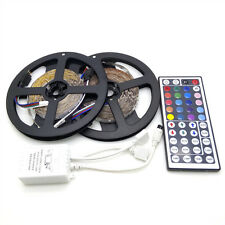 10M 300 LED SMD 3528 RGB Flexible Light Strip Lamp + 44key Remote control